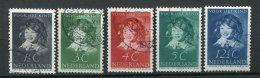 8777  PAYS-BAS  N° 299/303 °   Au Profit Des Oeuvres Pour L'enfance   1937   TB - Period 1891-1948 (Wilhelmina)
