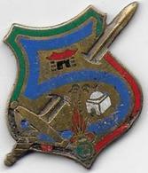 Légion - 3e REI - 2e Bataillon - 5e Compagnie - Insigne émaillé Drago - Esercito
