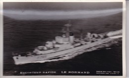 ESCORTEUR RAPIDE LE NORMAND / MARIUS BAR PHOTO - Warships