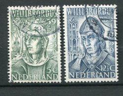 8780  PAYS-BAS  N° 323/4 °   12é Centenaire De La Mort De Saint Willibrord   1939   TB - Period 1891-1948 (Wilhelmina)