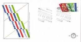 Nederland - FDC - Verzelfstandiging PTT - Posterijen, Telegrafie En Telefonie - NVPH E261 - Post
