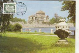 TATA CASTLE, CM, MAXICARD, CARTES MAXIMUM, 1985, HUNGARY - Maximumkarten (MC)