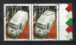 Bulgarien 2013  Mi.Nr. 5093 Paar , EUROPA CEPT - Postfahrzeuge - Gestempelt / Used / (o) - 2013