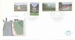 Nederland - FDC - Zomerzegels, Landschappen - Duinen/buitenplaats/merengebied/heide - NVPH E181 - Aardrijkskunde