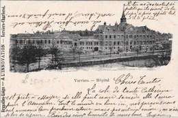 VERVIERS - L'Hôpital - Carte Précurseur, Oblitération De 1905 - Verviers