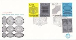 Nederland - FDC - Zomerzegels, Computerontwerpen - NVPH E104 - Computers