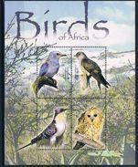 Bloc Sheet Oiseaux Birds Neufs MNH ** Lesotho 2004 - Oiseaux