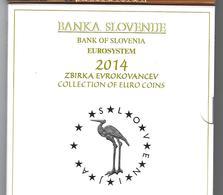 SLOVENIE EUROMUNTEN BU-set 2014 -  VOLLEDIGE REEKS + 3 EURO - Slovénie