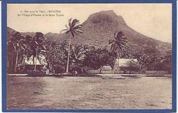 CPA Tahiti Océanie Océania Polynésie RAIATEA Non Circulé - French Polynesia