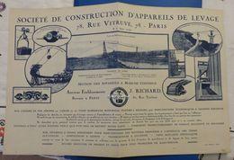 Société De Construction D'appareils De Levage Anciens établissements J. Richard - 1925 - Altri