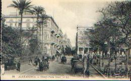 EGYPTE – ALEXENDRIA « Chérif - Pacha Street » - Ed. LL, Paris - Alexandrie
