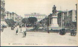 EGYPTE – ALEXENDRIA « Mohammed-Ali Place» - Ed. LL, Paris - Alexandrie