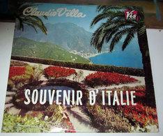 CLAUDIO VILLA SOUVENIR D'ITALIE LP - Vinyl Records