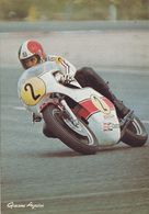 Cp-moto-pilote Giacomo Agostini--photo Alain Cochet-circuit Paul Ricard - Motos