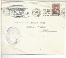ARGENTINA ROSARIO MT RODILLO 1950 GENERAL SAN MARTIN SELLO SERVICIO OFICIAL - Militaria
