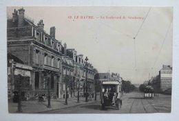 LE HAVRE - LE BOULEVARD DE STRASBOURG - 82 - Le Havre