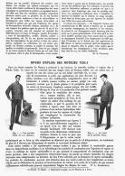 """DIVERS EMPLOIS DES MOTEURS  """" TESLA """"   1912 - Technical"""