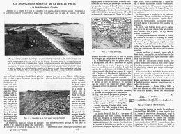 LES MODIFICATIONS RECENTES De La COTE Du POITOU à La BELLE-HENRIETTE ( VENDEE )  1912 - Aquitaine