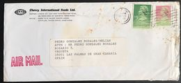 ◆◆◆HONG KONG    AIR MAIL TO SPAIN ++++ - Other
