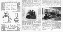 LE MOTEUR SABATHé à COMBUSTION MIXTE   1912 - Sciences & Technique
