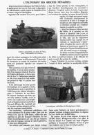 L'ENLEVEMENT DES ORDURES MENAGERES    1912 - Sciences & Technique