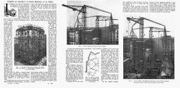 COMMENT ON CONSTRUIT UN IMMEUBLE Au XXeme Siecle     1912 - Sciences & Technique