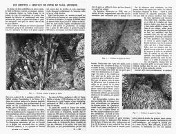 LES GROTTES à CRISTAUX DE GYPSE De NAICA  ( MEXIQUE)   1912 - Minéraux & Fossiles
