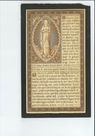 Z E H JOANNES PATRICIUS DEROY ° WEZEMAAL ( ROTSELAAR ) 1866 ONDERPAST ANTWERPEN + WEZEMAAL 1895 - Images Religieuses