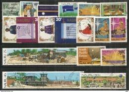 Lot Oblitéré 1 ère Qualité (20) Tous Different,tous Grands Formats. - Nauru