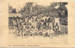 Etat Ind Du Congo NA2: Groupe D'arabisés 1909 - Afrique