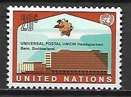 NATIONS - UNIES   -   1971 .  Y&T N° 212 **.   U. P. U. - New York -  VN Hauptquartier