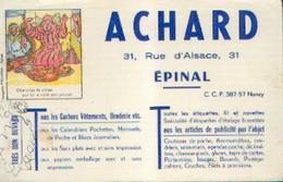 Buvard – (EPINAL) - Ets ACHARD - E