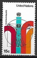 NATIONS - UNIES   -   1972 .  Y&T N° 221 **.    Journée De La Santé  /  Léonard De Vinci.. - New York -  VN Hauptquartier