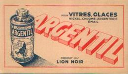 Buvard – ARGENTIL, Produit Du LION NOIR - Blotters