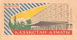 "D8595 ""МЕИМАНХАНА - КАЗАКСТАН - АЛАТЫ / MEYMANHANA - KAZAKHSTAN - ALMATY"" ETICHETTA ORIGINALE - ORIGINAL LABEL - Adesivi Di Alberghi"