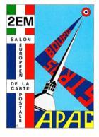 [MD2300] CPM - APAC 4° CARTOLINA PIRATA - PRESENZA CONVEGNO STRASBURGO - NV - Bourses & Salons De Collections