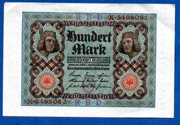 Allemagne   / 100 Mark 1-11-1920 / SUP - [ 3] 1918-1933 : Repubblica  Di Weimar