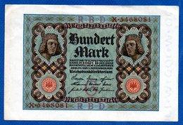 Allemagne   / 100 Mark 1-11-1920 / SUP - [ 3] 1918-1933 : República De Weimar