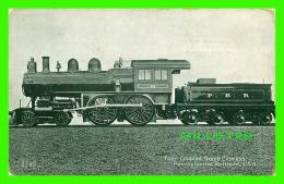 TRAINS - FOUR COUPLED BOGIES EXPRESS, PENNSYLVANIA RAILROAD -  THE DEFCO SERIES - DELITTLE,FENWICK & CO - - Trains