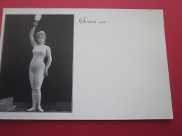 GRUSS Aus ...Deutsche Reich Post Postkart Précureur CPM  Jolie Jeune Femme, Carte Postale-Card Allemagne Pin Up - Autres