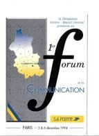 FORUM COMMUNICATION LA POSTE PARIS 1994 - Postal Services