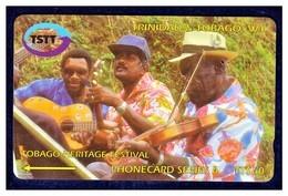 """TRINIDAD & TOBAGO: 1998 T&T-180A """"Tobago Heritage Festival"""" CN:180CTTA. Used. - Trinité & Tobago"""