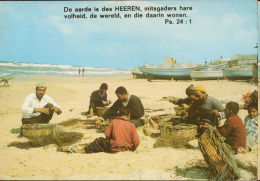 Vissers Op Het Strand Van Gaza Fishermen Middle East - Pays-Bas