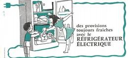 VP-GF.18-511: BUVARD.  REFRIGERATEUR ELECTRIQUE. - Electricité & Gaz