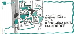 VP-GF.18-511: BUVARD.  REFRIGERATEUR ELECTRIQUE. - Electricity & Gas