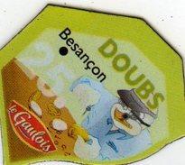 Magnets Magnet Le Gaulois Departement France Costume 25 Doubs - Tourisme