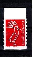 Nouvelle-Calédonie  TVP Rouge  **    WERLING /Philaposte / 2018  // Issu Du Carnet Autocollant Régime Intérieur - Unused Stamps