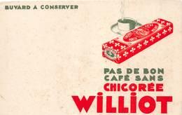 VP-GF.18-514 : BUVARD. CHICOREE WILLIOT - Vloeipapier