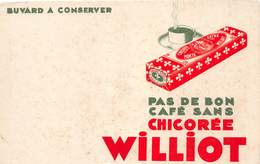 VP-GF.18-514 : BUVARD. CHICOREE WILLIOT - Buvards, Protège-cahiers Illustrés