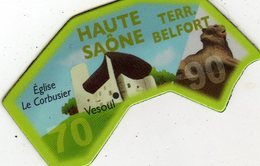 Magnets Magnet Le Gaulois Departement Tourisme France 70 90 Haute Saone Belfort - Tourism